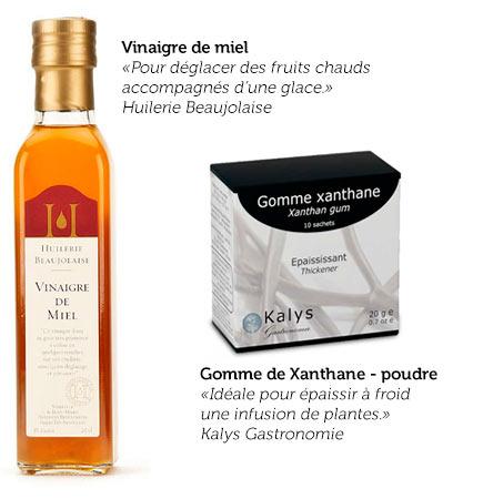 Sélection de produits Hervé Busset