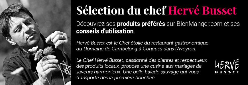Sélection du chef Hervé Busset