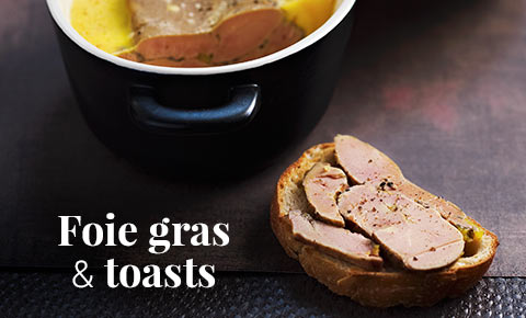 Foie gras & toasts