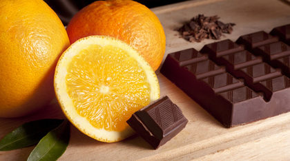 Chocolat et orange
